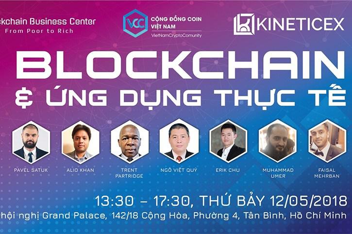 [QC] Sự kiện Blockchain và ứng dụng thực tế quy mô lớn. Nhanh tay đăng ký để sở hữu vé miễn phí