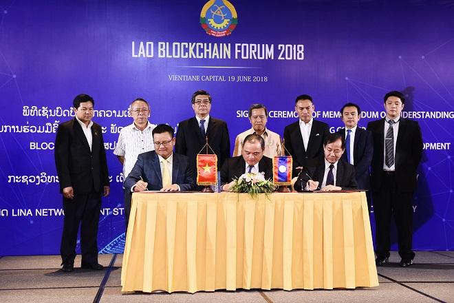 Blockchain của Startup Việt vinh dự được Chính phủ Lào kí hợp đồng sử dụng