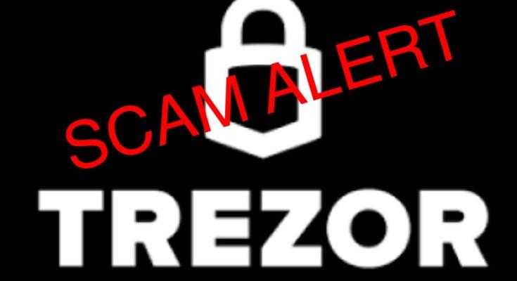 Cảnh báo lừa đảo: Website ví Trezor giả mạo