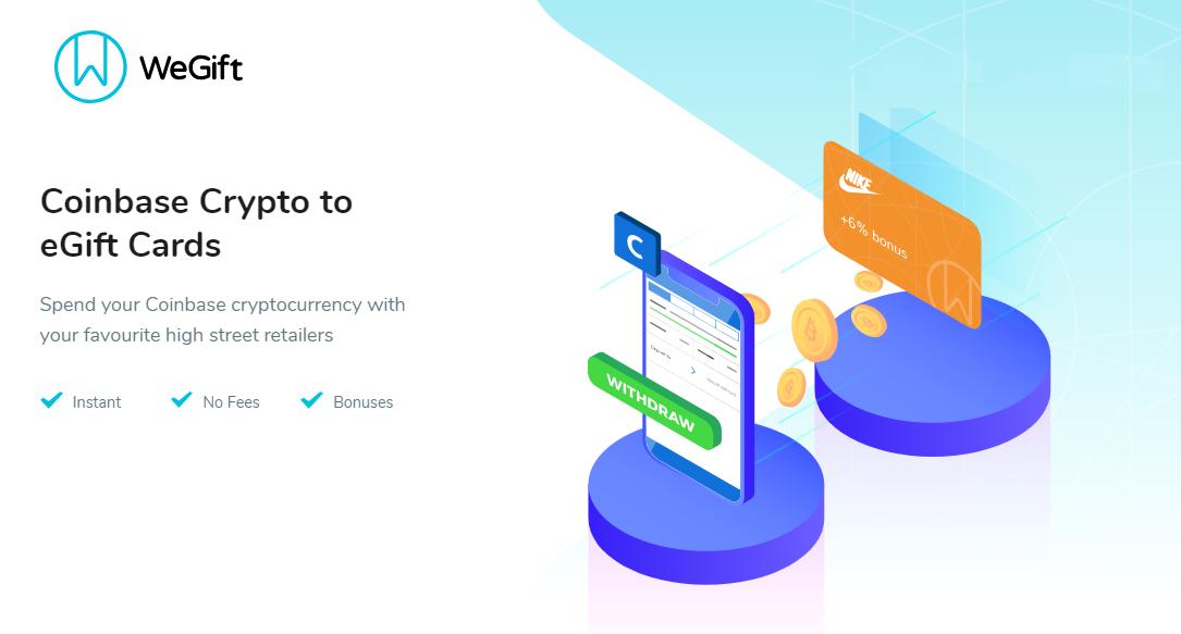 Coinbase giới thiệu thẻ eGift cho phép thanh toán trên Google Play, Amazon, Uber bằng cryptocurrency