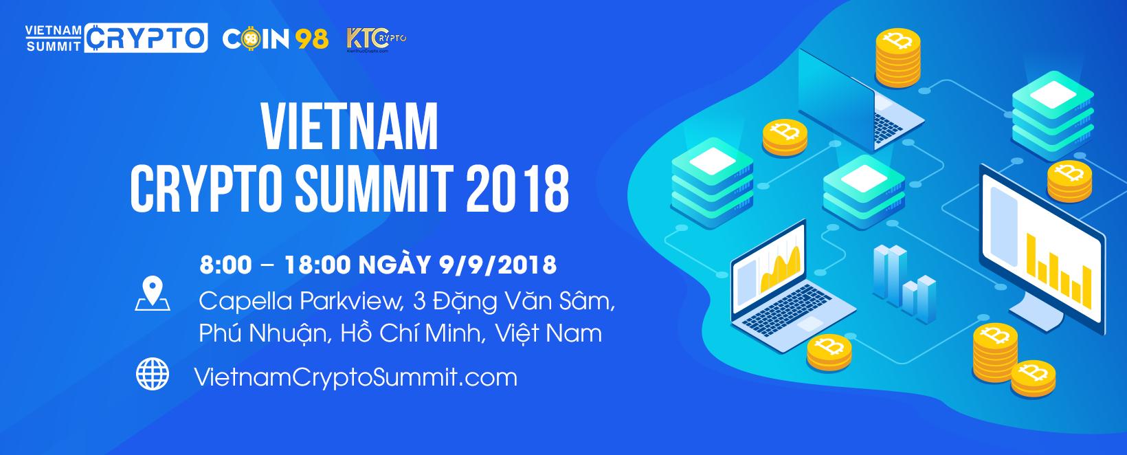 [PR] Mở khoá thành công trong nền kinh tế 4.0 tại Việt Nam Crypto Summit 2018
