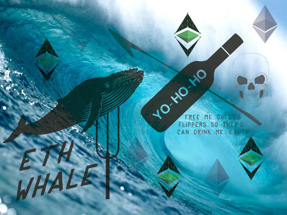 """""""Cá voi"""" đầu tư ICO Ethereum vừa chuyển hàng triệu ETH lên sàn Bitfinex"""