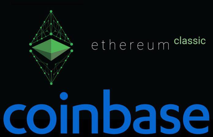 Coinbase hoàn tất thử nghiệm niêm yết Ethereum Classic trên Coinbase Pro