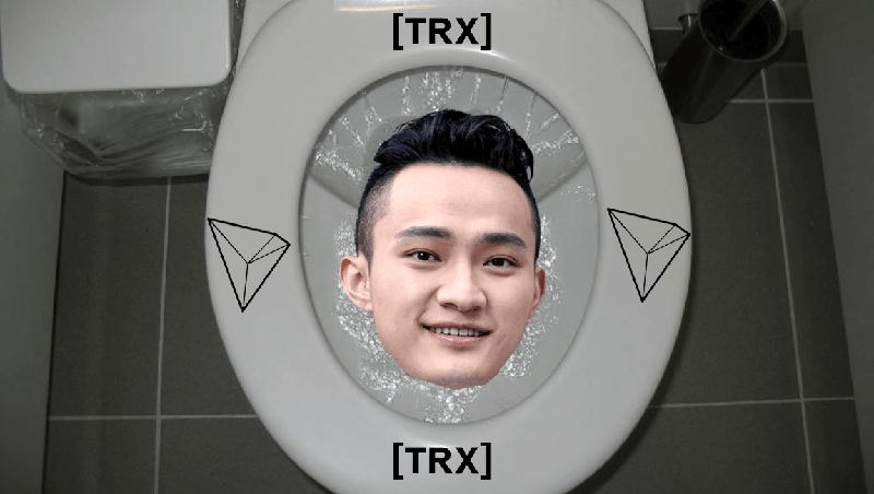 TRON tái định nghĩa về SHITCOIN bằng cách đưa nhà vệ sinh lên blockchain