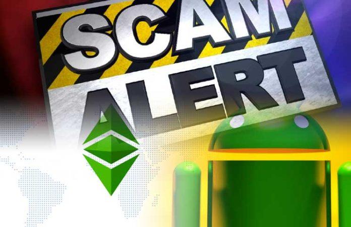 Ứng dụng lừa đảo trên Android: Mất €335 chỉ để sở hữu logo của Ethereum