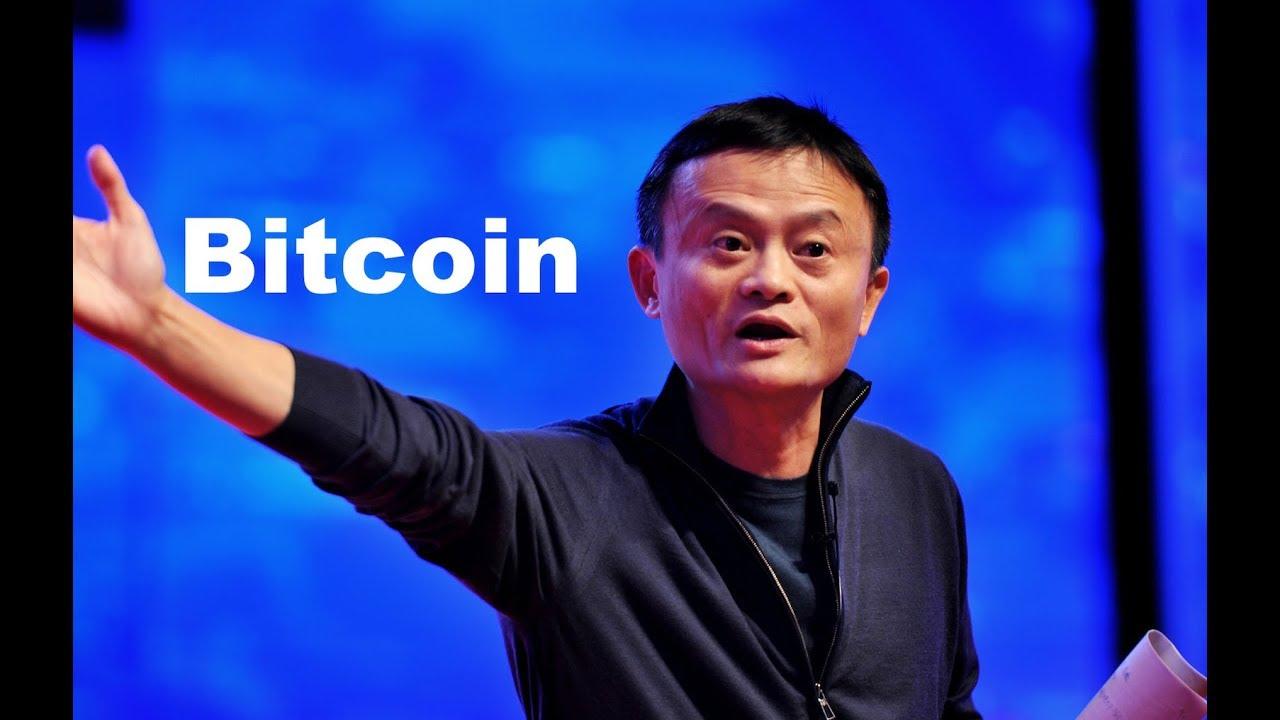 Jack Ma: Tôi chú ý đến Blockchain và Bitcoin vì một xã hội không tiền mặt
