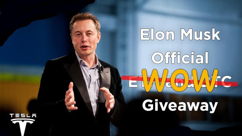 """""""Ăn hôi"""" sự kiện Falcon 9, lừa đảo mạo danh Elon Musk giveaway BTC và ETH"""