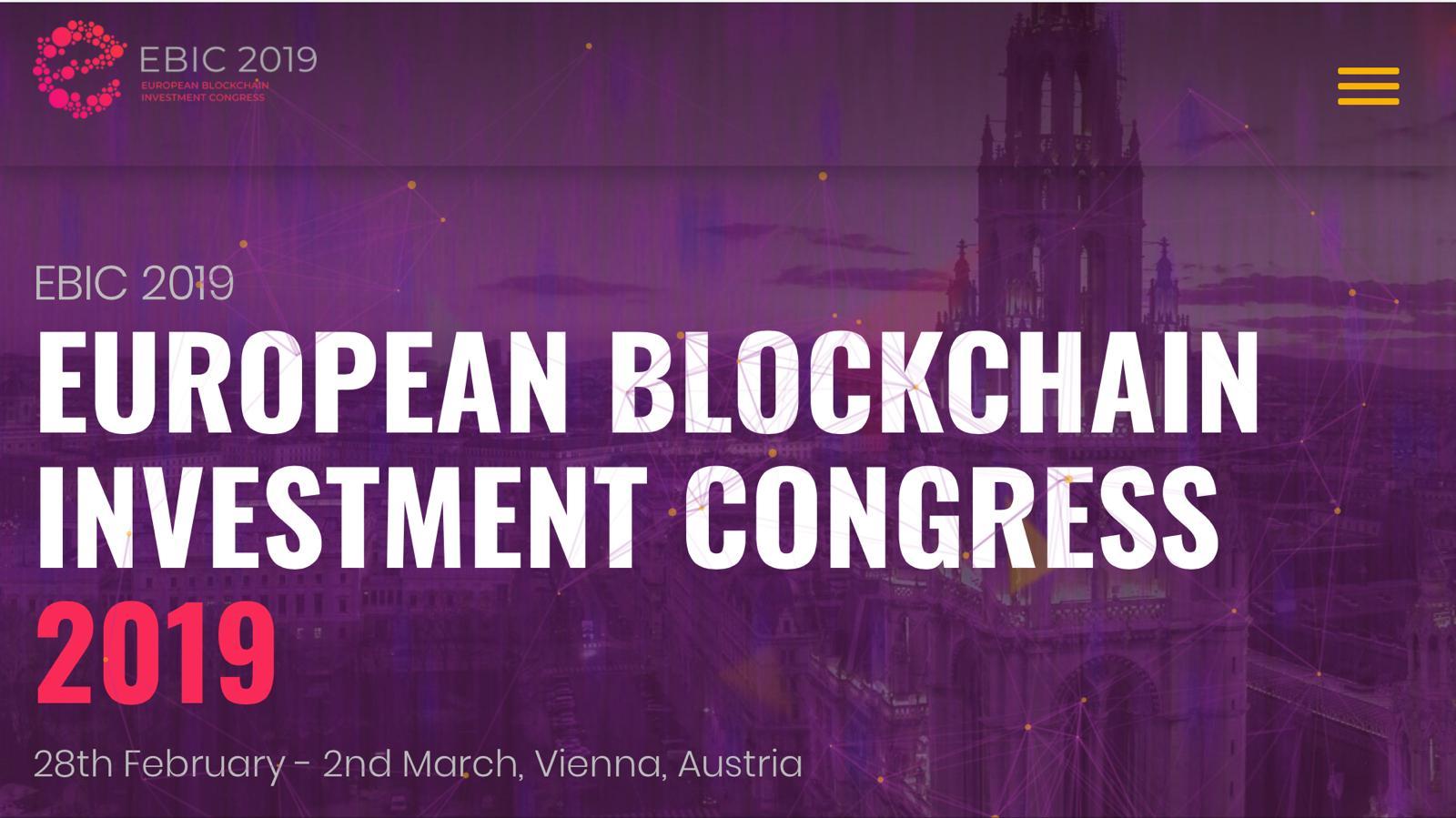 [PR] European Blockchain Investment Congress 2019: Thảo luận tiềm năng của Blockchain trong nền kinh tế hiện đại