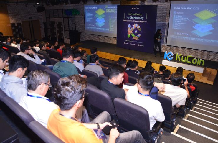 """Kambria tại sự kiện KuCoin Meetup: Blockchain """"Từ ICO đến ứng dụng thực tế"""""""