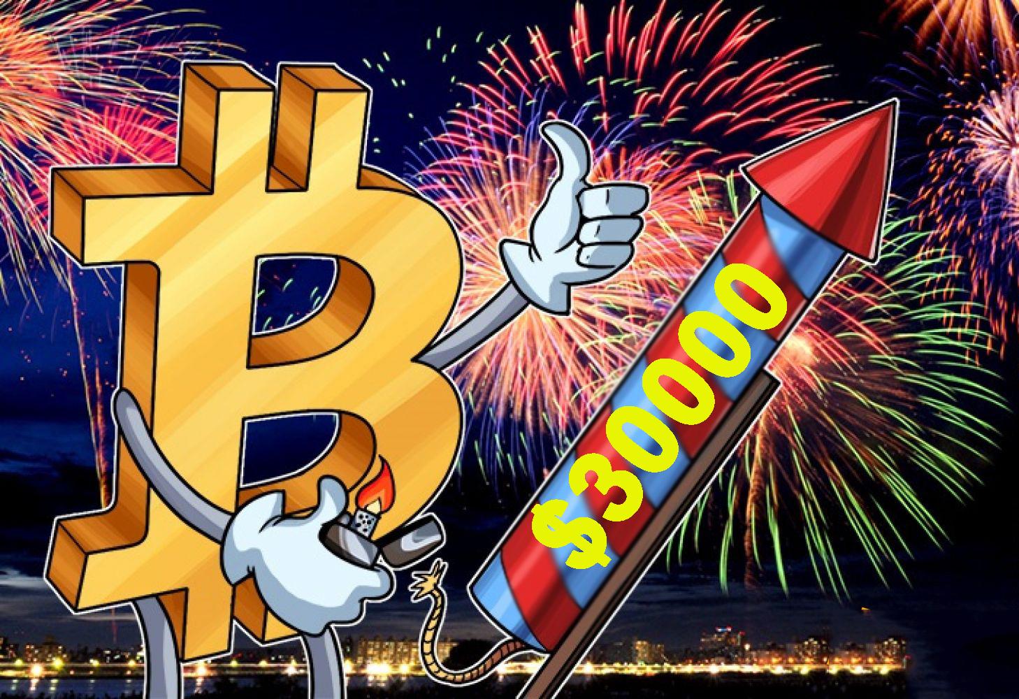 [HOT] Bitcoin phá đỉnh cũ, lập kỷ lục 30.000 USD trong đêm và cái kết…