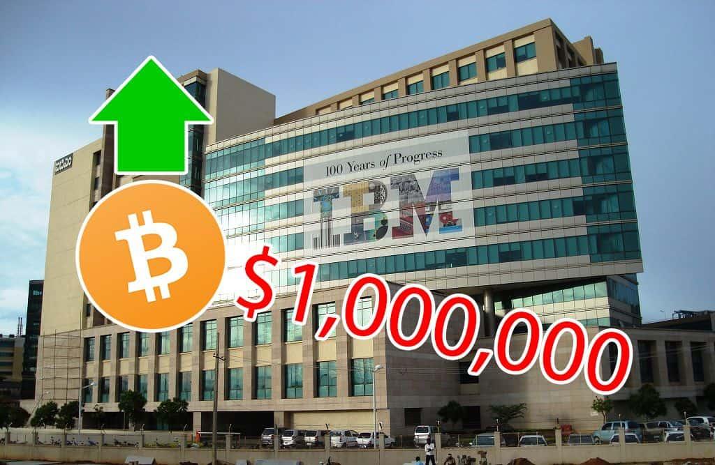 """Thêm một """"sếp"""" IBM được kết nạp vào team """"Giá Bitcoin 1 triệu Đô"""""""